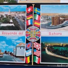 Postales: 7 POSTALES DEL SAHARA ESPAÑOL. Lote 289866293