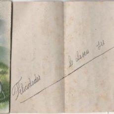 Postales: LIBRETE- TIPO ACORDEON-DE UNA TARJETA POSTAL ESCRITA EN EL AÑO 1948. Lote 295020083