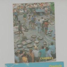 Postales: LOTE B-POSTALES CAMBRLIS TARRAGONA SELLOS RULA PESCADO. Lote 295830408