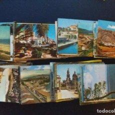 Postales: VARIAS POBLACIONES DE ESPAÑA AÑOS 50 Y 60. Lote 295858013