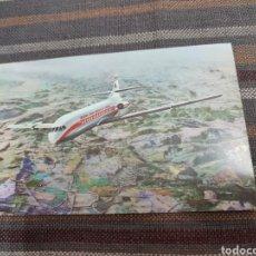 Postales: POSTAL ANTIGUA IBERIA 1963. CARAVELLE VI-R. Lote 296597678