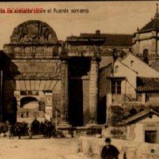 Postales: CORDOBA PUERTA DE ENTRADA SOBRE EL PUENTE ROMANO - 1939 .. CENSURA MILITAR DE LOS CORREOS CÓRDOBA. Lote 14645557