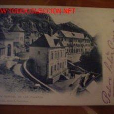 Postales: TARJETA POSTAL ANTIGUA DE VISTA GENERAL DE LAS FUENTES.PANTICOSA. Lote 12774961