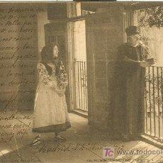Postales: LA CARTA. QUIEN SUPIERA ESCRIBIR. COLECCION CANOVAS. SERIE COMPLETA. 20 POSTALES.HACIA 1905.. Lote 27037677