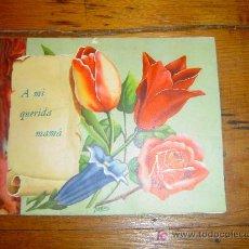 Postales: POSTAL ESPECIAL DEDICADA A MI QUERIDA MAMA.. Lote 11950046