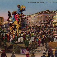Postales: CARNAVAL. LA GIRAFE (PETIT CHAR). CARNAVAL DE NICE. Lote 4884497