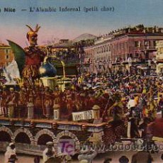 Postales: CARNAVAL. L'ALAMBIC INFERNAL (PETIT CHAR). CARNAVAL DE NICE. Lote 4884515