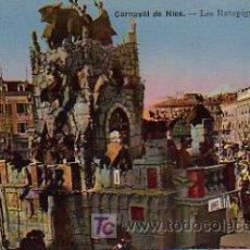 Postales: CARNAVAL. LES RATAPIGNATTA (GRAND CHAR). CARNAVAL DE NICE. Lote 4884521
