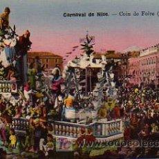 Postales: CARNAVAL. COINDE FOIRE (GRAND CHAR). CARNAVAL DE NICE. Lote 4884530