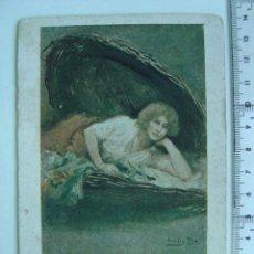 Postales: CREACIONES FEMENINAS, MARIANELA - DIBUJO DE CECILIO PLA. Lote 17175636