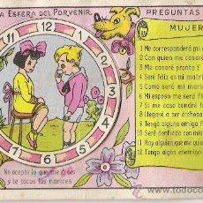 Postales: POSTAL DE *LA ESFERA DEL PORVENIR*. Lote 10477850