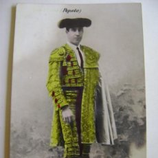 Postales: POSTALES ANTIGUAS DE ESPAÑA TAUROMAQUIA TOREROS (PEPETE). Lote 204808996