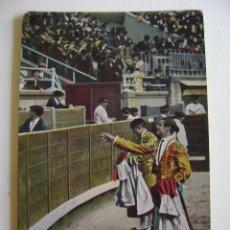 Postales: POSTALES ANTIGUAS DE ESPAÑA TAUROMAQUIA TOREROS OVACION A BOMBITA. Lote 205125927