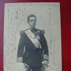 Postales: S.M. EL REY ALFONSO XIII. Lote 12675372