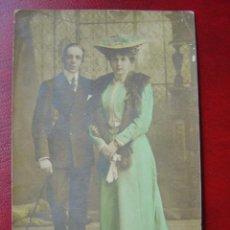 Postales: S.M. EL REY ALFONSO XIII Y DOÑA VICTORIA EUGENIA - POSTAL FOTOGRAFICA. Lote 12675401