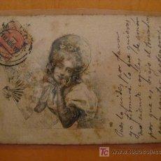 Postales: PRECIOSA POSTAL AÑO 1902. Lote 12705724