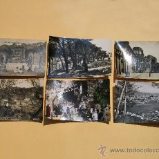 Postales: LOTE 6 POSTALES DE LUGARES, ANTIGUAS. Lote 27507349