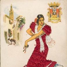 Postales: ANDALUCÍA – POSTAL BORDADA – POSTALES BEA – P.E.P – MADRID. Lote 24911616
