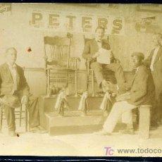 Postales: ANTIGUA CASA DE LIMPIABOTAS - 1911 - FOTOGRAFICA - COSTUMBRISTA. Lote 24262111