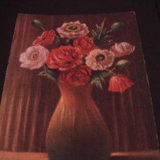 Postales: BONITA POSTAL DE FLORES. EDICION ESPAÑOLA. SIN USO. Lote 17901065