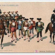 Postales: PASEO DE LAS CUADRILLAS. SONORA NEWW CO. Nº 700. ANTERIOR A 1906.. Lote 18055497