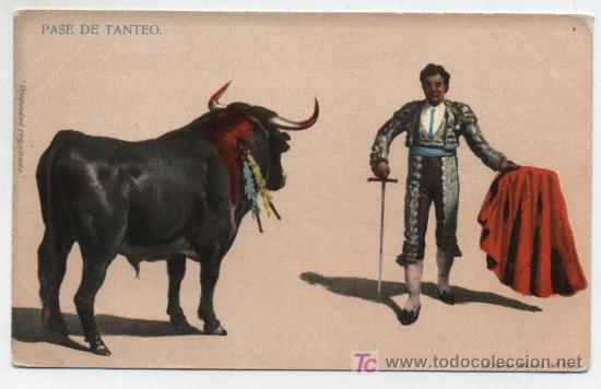 PASE DE TANTEO. I.G.HATTON. MÉXICO. ANTERIOR A 1906 (Postales - Postales Temáticas - Especiales)
