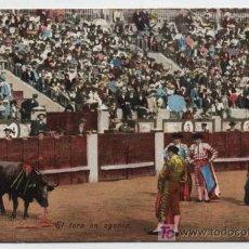 Postales: EL TORO EN AGONÍA. P & CO., MCHN. SERIE 56.. Lote 18056274