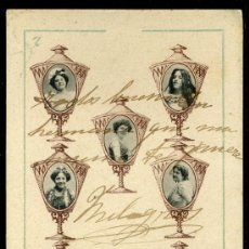 Cartes Postales: TARJETA POSTAL DE CANOVAS BARAJA DE CARTAS. REVERSO NO DIVIDIDO. Lote 19725158