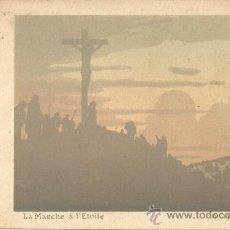 Postales: COLECCION DE 15 POSTALES FINALES SIGLO XIX PRINCIPIOS XX LA MARCHE A L'ETOILE REPUBLICA FRANCESA. Lote 19840949