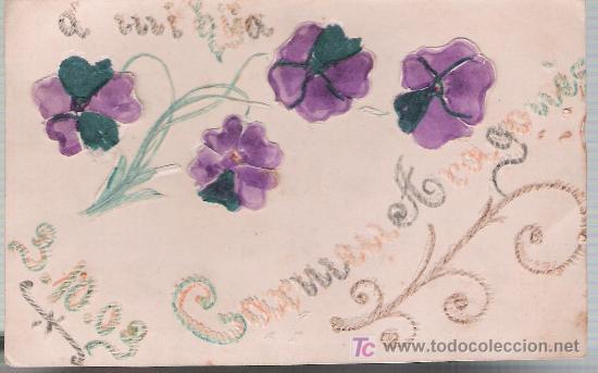 POSTAL RELIEVE.- FRANQUEADO Y FECHADO EN ALEMANIA EN 1903. (Postales - Postales Temáticas - Especiales)