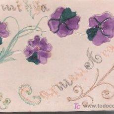 Postales: POSTAL RELIEVE.- FRANQUEADO Y FECHADO EN ALEMANIA EN 1903.. Lote 21224497