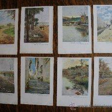 Postales: COLECCION PAISAJES ANDALUCES (8 UNIDADES COLOREADAS).. Lote 26047219