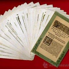 Postales: DON QUIJOTE DE LA MACHA, LOTE 23 POSTALES, CHOCOLATES MATIAS LOPEZ ESCORIAL, VER TODAS FOTOS. Lote 21768011