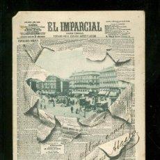 Postales: TARJETA POSTAL DE PERIODICO DE EL IMPARCIAL. REVERSO NO DIVIDIDO.. Lote 23527690