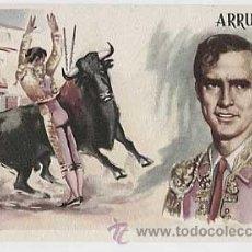 Postales: POSTAL, TAUROMAQUIA: TORERO ARRUZA ILUSTRACION A. IBARRA, JANO. ED. BEA. SIN CIRCULAR. Lote 23965803