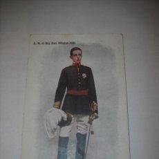 Postales: S.M.EL REY ALFONSO XIII (FOTOGRAFIA DE FRANZEN) EN COLOR (SIN CIRCULAR). Lote 26767443