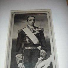 Postales: S.M. ALFONSO XIII, REY DE ESPAÑA (EN BLANCO Y NEGRO) SIN CIRCULAR. Lote 26767444