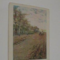 Postales: PAISAJES ANDALUCES LA PRIMERA FAENA 1902. Lote 26172992
