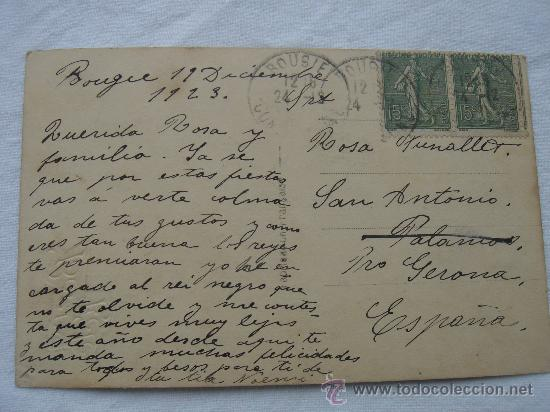 Postales: DETALLE DEL DORSO DE LA POSTAL - Foto 2 - 26492366
