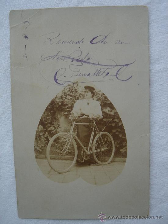 POSTAL ANTIGUA CON BONITO MOTIVO. ESCRITA Y FECHADA EL ¿2-8-1905?. (Postales - Postales Temáticas - Especiales)