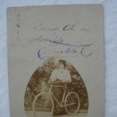 Postales: POSTAL ANTIGUA CON BONITO MOTIVO. ESCRITA Y FECHADA EL ¿2-8-1905?.. Lote 26493056