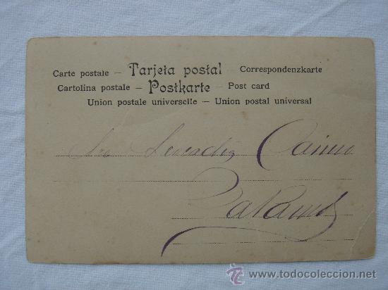 Postales: VISTA DEL DORSO DE LA POSTAL - Foto 3 - 26493056
