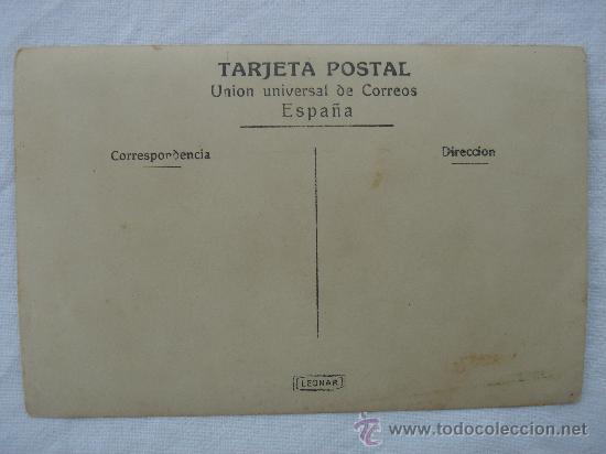 Postales: DETALLE DEL DORSO DE LA POSTAL - Foto 3 - 26493198