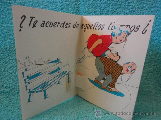 Postales: GRACIOSA POSTAL ANIVERSARIO DE BODA. DESPLEGABLE CON ELEMENTO MOVIL. AÑOS 60. ORTIZ MADRID - Foto 2 - 132705509
