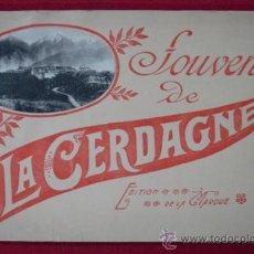 Postales: LA CERDAGNE. LA CERDANYA. BLOCK DE 16 VISTAS TAMAÑO 14 X 21 CM. LLIVIA, PUIGCERDA, FONT-ROMEU,..... Lote 28032276