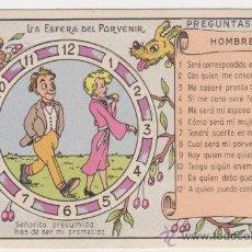 Postales: LA ESFERA DEL PORVENIR. TARJETA TROQUELADA.. Lote 28703562