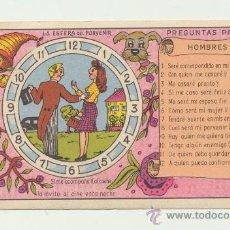 Postales: LA ESFERA DEL PORVENIR. TARJETA TROQUELADA.. Lote 28720861