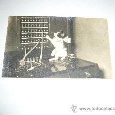 Postales: POSTAL FOTOGRAFICA TELEFONICA NACIONAL DE ESPAÑA VALENCIA RIADA 1957 RARO DOCUMENTO. Lote 28813850