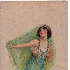 Postales: TARJETA POSTAL, DANZA ORIENTAL, AMERICAN GIRL Nº 88, ALICE LUELLAR FIDLER. Lote 29419817