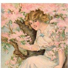 Postales: TARJETA POSTAL AMERICAN GIRL Nº 112, ALICE LUELLA FIDLER. Lote 29419870